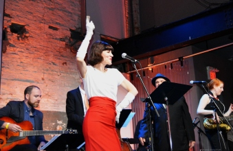 From an earlier Zoomer event, celebrating the music of Frank Sinatra